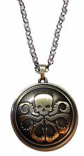 Marvel Comics Captain America HYDRA Logo Bronze Finish Necklace PENDANT