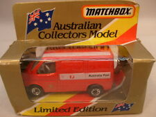 1981 MATCHBOX SUPERFAST AUSTRALIAN COLLECTORS MODEL MB60 FORD TRANSIT POST MIB
