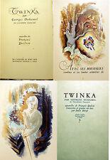 DUHAMEL/TWINKA/ED J.CRES/1945/EO/NUMEROTE/AQUARELLES DE F.QUELVEE/NABIS