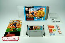 SUPER Nintendo * International Superstar Soccer Deluxe * SNES imballo originale con Inst, Sch. CIB