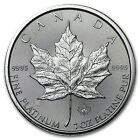 2015 Canada 1 oz Platinum Maple Leaf BU - SKU #89078