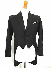 Net2 Mens Bespoke Vintage Edwardian Victorian White Tie Evening Tails Coat 36