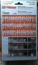 Preiser 74090 ; 190 unbemalte Figuren 1:100