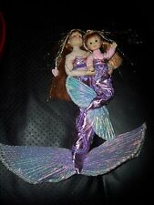 TOO CUTE! THE HEART CLUB MERMAID DOLLS 9.5 & 4 INCH DOLLS IN MERMAID OUTFITS