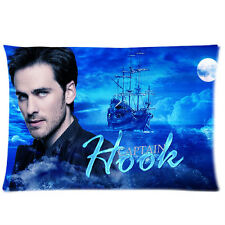 New Design Once Upon a Time Captain Hook Pillowcase 20x30 (one side)Cushion Case
