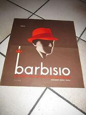 poster ORIGINALE ANNI 30/40 BARBISIO CAPPELLI SAGLIANO MICCA  STUDIO MINGOZZI