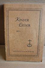 Altes Kinder Lieder Heft 1 Nak der Neuapostolischen Kirche - Gesangbuch