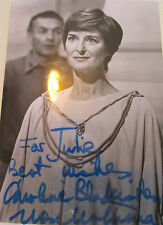 6x4 Hand Signed Photo Star Wars Mon Mothma - Caroline Blakiston  RARE