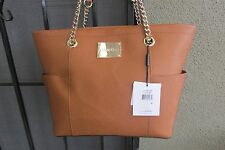 Calvin Klein Tote Shopper Handbag H4AA1888 Color Toffee Large NWT
