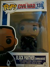 FUNKO POP UNMASKED BLACK PANTHER WALGREENS EXCLUSIVE (MARVEL, CIVIL WAR)