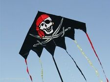 Delta Jolly Roger-pirata (90082) V. invento, single line dragón, Pirate Kite