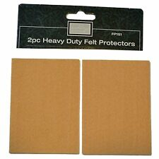 New 2pc and 3mm Thick heavy duty and durable felt protectors Great value set 151