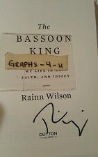 Rainn Wilson Signed Dwight Schrute Autograph The Office COA proof a