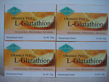 DIAMOND ORANGE PEEL & L-GLUTATHIONE FACE AND BODY SOAP-4 PC 150G EACH