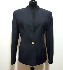GIANNI VERSACE VINTAGE '80 Giacca Donna Lana Wool Woman Jacket Sz.S - 42