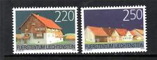 LIECHTENSTEIN MNH 2004 SG1358-1359 PRESERVATION OF HISTORICAL ENVIRONMENT