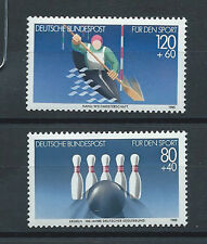 GERMANY, SPORTS , 1985 , SET OF 2 STAMPS , PERF , MNH