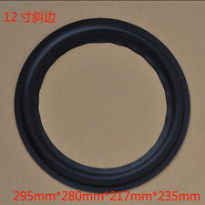 "1ps 12"" inch hypotenuse edge Speaker rubber edge Speaker repair surround for JBL"