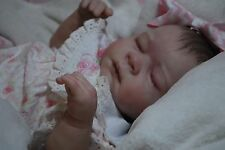 Reborn CUSTOM MADE GENA ooak fake baby life like vinyl art ARTIST Doll