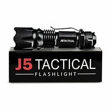 J5 Tactical V1-Pro Flashlight - The Original 300 Lumen Ultra Bright, LED Mini...