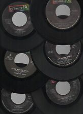 "THREE DOG NIGHT LOT OF 11 STOCK 7"" 45rpm 1970'S AMERICAN ROCK POP SINGLES"