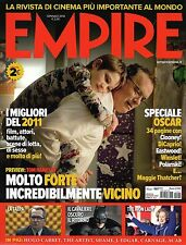 Empire.TOM HANKS,MICHAEL FASSBENDER,STEVE McQUEEN,ROBERT DOWNEY JR.OLIVIA WILDE