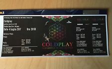 1x Coldplay Prato San Siro Milano 4 Luglio 2017 SOLD OUT !!!