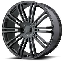 20 Inch Wheels Rims Gloss Black Jeep Wrangler JK KM651 Slide 5x5 Lug SINGLE 1