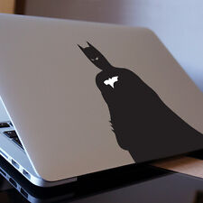 "Ángulo lateral de Batman Apple Macbook Decal Sticker encaja 11"" 13"" 15"" y 17"" Modelos"