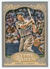 2012 Topps Gypsy Queen Joe DiMaggio SP Photo Variation