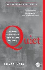 QUIET Power of Introverts in a World that Can't Stop Talking NEW book Susan Cain