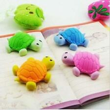 1x Tortoise Turtle 3d Design Drawing Cleaner Rubber Wiper Eraser For School kids