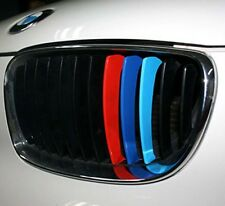 New BMW Front Hood Grill Kidney Decal Emblem Badge Sticker Fit M3 M5 M6 X3 X5 X6