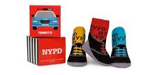 New Trumpette Baby Non-skid  NYPD Socks Police Cops 3 pairs 0-12 Mos Unisex gift