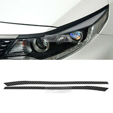 Front Head Light Lamp EyeLine Point Carbon Decal Sticker for KIA 2016 Optima K5