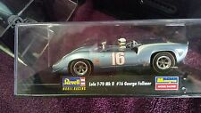 Blue Lola #16 slot car 1:32 scale by Revell