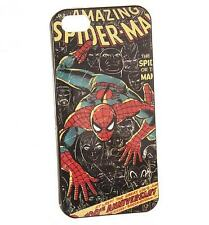 RETRO MARVEL COMICS SPIDER-MAN MÓVIL FUNDA IPHONE 5 NUEVO REGALO GENIAL