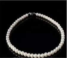 In Stock Cheap Women Pearls Necklace Generous Wedding Bridal Accessory Necklace