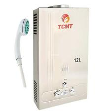 3.2 GPM Natural Gas 12L Hot Water Heater Instant Boiler Tankless Stainless Steel