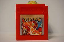 Pokemon Red Edition nintendo game boy color gbc gameboy English SAVE USA 3401