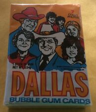 1981 Donruss Dallas TV Show Trading Card Set With Sealed Wax Pack
