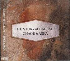 CHAGE And ASKA - THE STORY of BALLAD II - Japan CD NEW