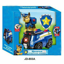 1pc PAW PUPPY PATROL Vehicle Car with light and music Action Figure Toy -- Chase