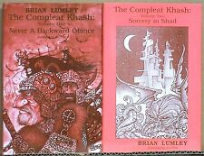 Brian Lumley: The Compleat Khash, V1 and V2—swords & HPL sorcery in Theem'hdra
