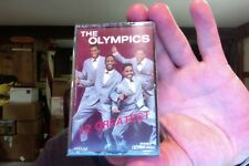 The Olympics- 12 Greatest- Golden Circle label- new/sealed cassette tape