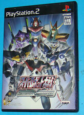 Super Robot Wars Scramble Commander -  Sony Playstation 2 PS2 Japan - JAP