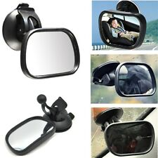 Car Baby In Sight View Mirror Kids Backseat Rear View Suction Mirror Adjustable