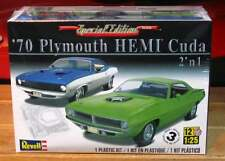 Revell Monogram 1970 Plymouth HEMI Cuda 2 'n 1 Plastic Model Kit 1/25