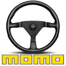 Momo Italy Monte Carlo Steering Wheel - 350mm - Leather / Black Stitching