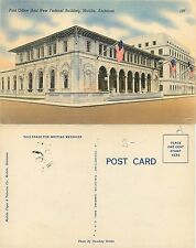 U.S.A. Post Office Mobile Alabama UFFICI POSTALI AMERICANI (S-L XX161)